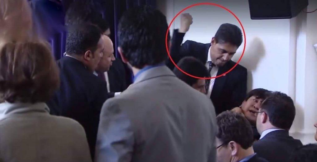 Hazara Activist Beaten by Ashraf Ghani Bodyguard in London Summit